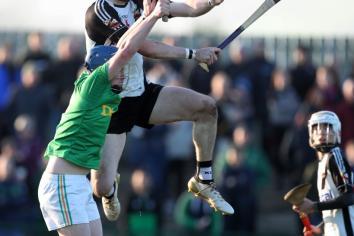 Dunloy fall at final hurdle