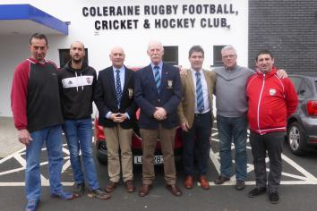 French visit to Coleraine RFC