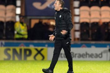 Kearney 'happy' at Saint Mirren