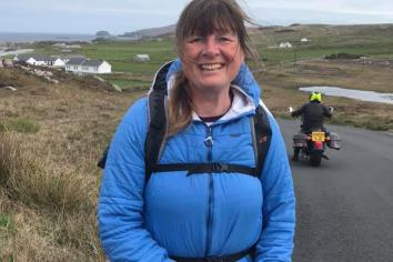 Meet 'The Alzheimer's Lady' as she walks the coastline in aid of ARUK
