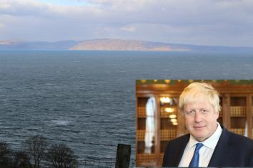 Boris Johnston's new bridge to Scotland could start near Ballycastle