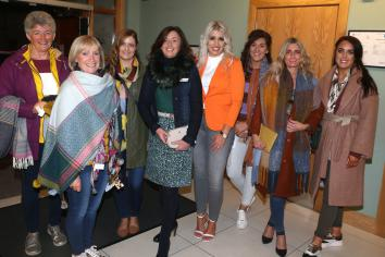 Stepping out for Ballycastle Hospice support group fashion show