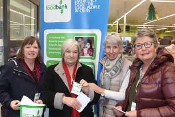 Ballycastle Foodbank experiences 1500% increase in food box distribution