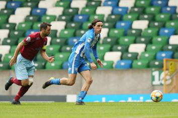 Bannsiders enjoy good work-out agaimst Linfield