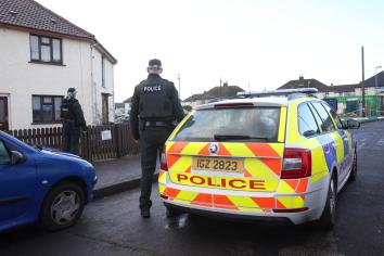 Police recover two firearms in Coleraine