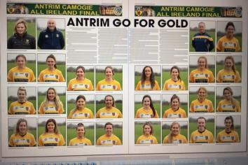 Meet the Antrim camogs looking to win the All Ireland this weekend