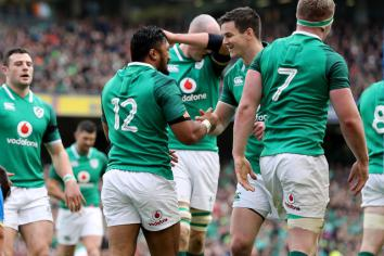 Two uncapped players named in Ireland squad