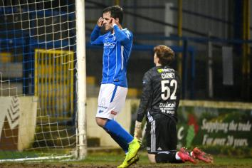 Ben on the spot for Coleraine