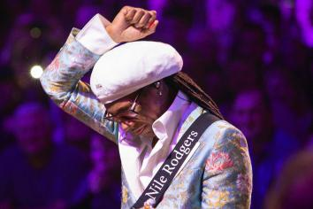 Nile Rodgers and Chic on their way to Belfast