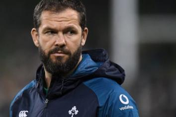 Ireland squad named for Autumn Nations Series