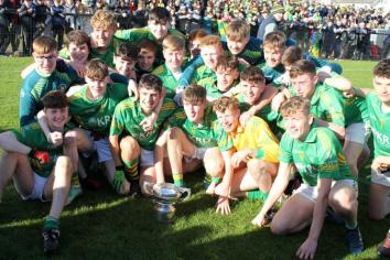 Championship glory for Dunloy footballers