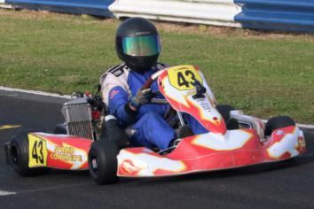 Kart champ McFall could switch codes next year