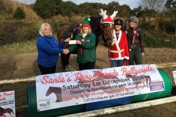 Santa pony parade!