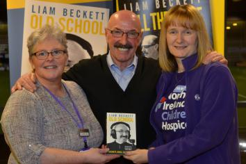 BECKETT'S TOP BOOK TO AID NI HOSPICE
