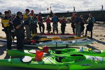 No sea border for kayakers