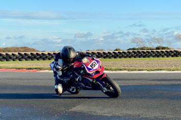 Peter prepares for British Talent Cup