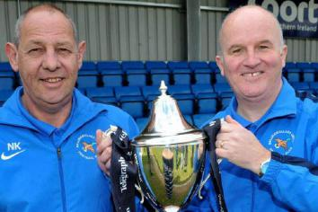 When Ballinamallard clinched promotion to the big-time