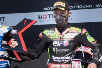 Rea gets first win in eight after rival is demoted