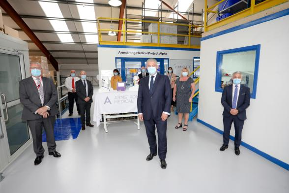 Secretary of State visits Armstrong Medical